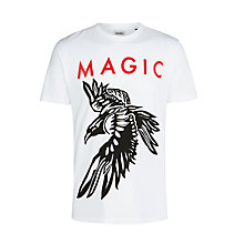 Buy Diesel T-Muzi Short Sleeve T-Shirt, White Online at johnlewis.com