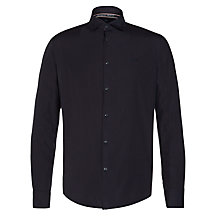 Buy Armani Jeans Tonic Sheen Shirt, Dark Blue Online at johnlewis.com