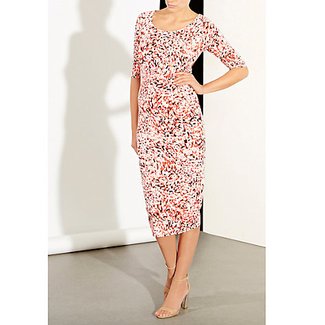 Buy Wishbone Rachel Animal Print Dress, Multi Online at johnlewis.com