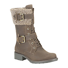 Buy Clarks Orinoco Calf Boots, Brown Online at johnlewis.com