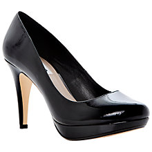 Buy Dune Angelinee Patent Platform Court Shoes Online at johnlewis.com