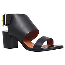 Buy KG by Kurt Geiger Mabel Leather Sandals Online at johnlewis.com