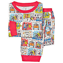 Buy Cath Kidston Childrens' Cops and Robbers Pyjamas, Multi Online at johnlewis.com