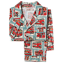 Buy Cath Kidston Children's London Bus Print Pyjamas, Multi Online at johnlewis.com