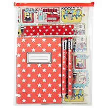 Buy Cath Kidston Cops and Robbers Stationery Set, Multi Online at johnlewis.com