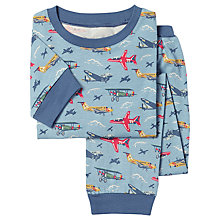 Buy Cath Kidston Childrens' Planes Pyjamas, Blue Online at johnlewis.com