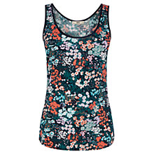 Buy Oasis Lily Ditsy Print Vest, Multi Online at johnlewis.com