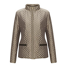 Buy John Lewis Mini Quilted Short Zip Jacket Online at johnlewis.com
