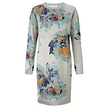 Buy Collection WEEKEND by John Lewis Waterflower Print Sweatshirt Dress, Multi Online at johnlewis.com