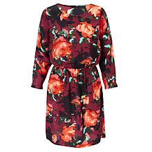 Buy Collection WEEKEND by John Lewis Rosebud Floral Print Dress, Multi Online at johnlewis.com