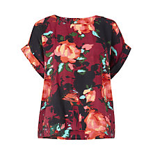 Buy Collection WEEKEND by John Lewis Rosebud Print Shell Top, Multi Online at johnlewis.com