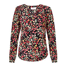 Buy Collection WEEKEND by John Lewis Scattered Floral Blouse, Multi Online at johnlewis.com