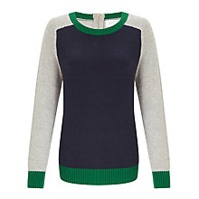 Buy Collection WEEKEND by John Lewis Colour Block Jumper Online at johnlewis.com