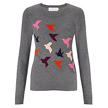 Buy Collection WEEKEND by John Lewis Flock Of Birds Jumper, Multi Online at johnlewis.com