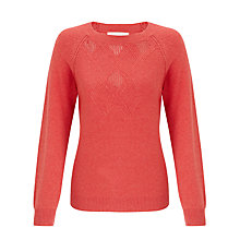 Buy Collection WEEKEND by John Lewis Pointelle Detail Jumper Online at johnlewis.com