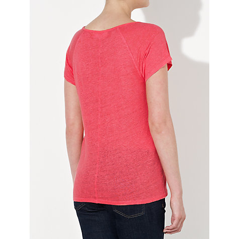 Buy Collection WEEKEND by John Lewis Linen Blend Top Online at johnlewis.com
