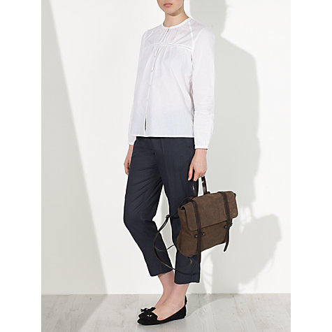 Buy Collection WEEKEND by John Lewis Jacquard Print Soft Trousers, Grey Online at johnlewis.com