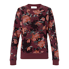 Buy Collection WEEKEND by John Lewis Rosebud Print Sweatshirt, Multi Online at johnlewis.com