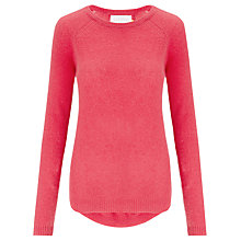 Buy Collection WEEKEND by John Lewis Pleat Back Cashmere Jumper Online at johnlewis.com