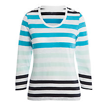 Buy John Lewis Stripe Slub Tee Online at johnlewis.com