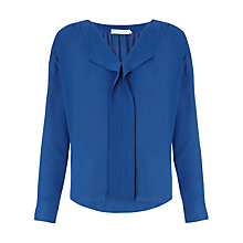 Buy John Lewis Capsule Collection Pleat Front Top Online at johnlewis.com