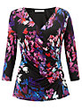 John Lewis Capsule Collection Floral Print Top, Multi