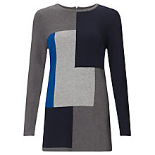 Buy John Lewis Capsule Collection Colour Block Tunic, Multi Online at johnlewis.com