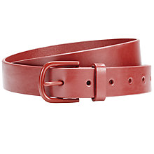 Buy Collection WEEKEND by John Lewis Coloured Buckle Leather Belt Online at johnlewis.com