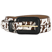 Buy COLLECTION by John Lewis Buckle Pony Belt Online at johnlewis.com