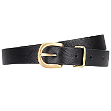 Buy COLLECTION by John Lewis Saffiano Belt Online at johnlewis.com