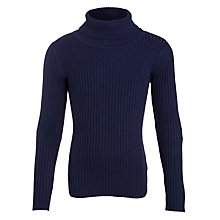 Buy John Lewis Girl Ribbed Roll Neck Jumper Online at johnlewis.com