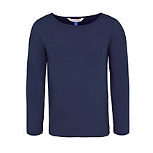 Buy John Lewis Girl Long Sleeve Basic Top Online at johnlewis.com