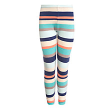 Buy John Lewis Girl Stripe Leggings, Multi Online at johnlewis.com