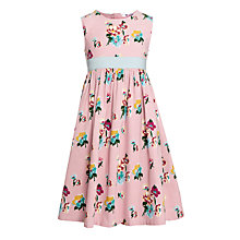 Buy John Lewis Girl Floral Print Prom Dress, Pink Online at johnlewis.com