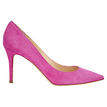 Buy Jigsaw Natalya Leather Court Heels Online at johnlewis.com