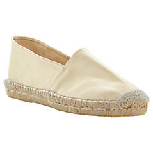 Buy Bertie Jaylee Leather Slip-On Espadrilles Online at johnlewis.com