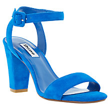 Buy Dune Harpers Suede Block Heeled Sandals Online at johnlewis.com