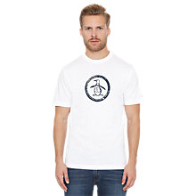 Buy Original Penguin Circle Logo T-Shirt Online at johnlewis.com