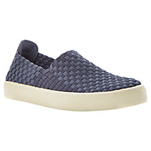 Buy Steve Madden Exx Woven Trainers, Blue Online at johnlewis.com