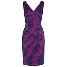 Buy Phase Eight Juliete Lace Dress, Navy/Fuchsia Online at johnlewis.com
