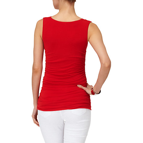 Buy Phase Eight Tallie Top, Scarlet Online at johnlewis.com