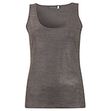 Buy Mint Velvet Metallic Vest, Rose Gold Online at johnlewis.com