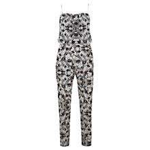 Buy Mint Velvet Liza Print Strappy Jumpsuit, Multi Online at johnlewis.com