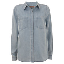 Buy Mint Velvet Western Shirt, Blue Online at johnlewis.com