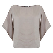 Buy Mint Velvet Square Cut Top, Stone Online at johnlewis.com