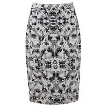 Buy Mint Velvet Liza Print Pencil Skirt, Multi Online at johnlewis.com