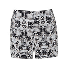 Buy Mint Velvet Liza Print Shorts, Multi Online at johnlewis.com