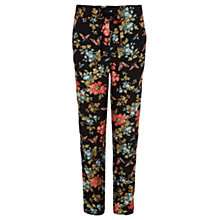 Buy Oasis Butterfly Blossom Soft Trousers, Multi Online at johnlewis.com