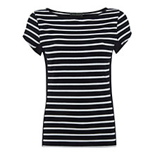 Buy Mint Velvet Stripe T-Shirt Online at johnlewis.com