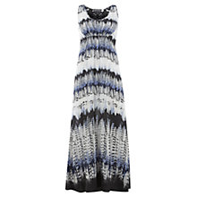 Buy Mint Velvet Luisa Print Maxi Dress, Multi Blue Online at johnlewis.com